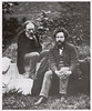 William Morris and Edward Burne-Jones, 1874.