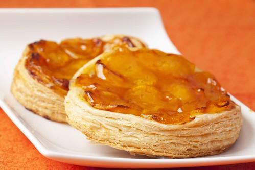 Pastissets de fulls amb albercoc 2
