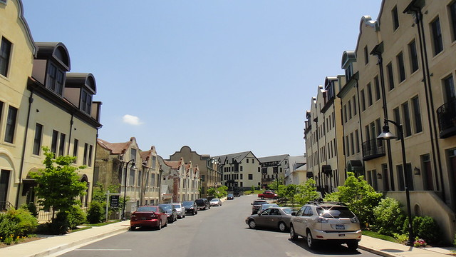 National Park Seminary new EYA townhouses
