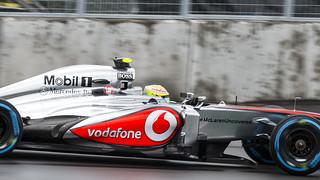 Sergio Perez 2013 Montreal grand prix