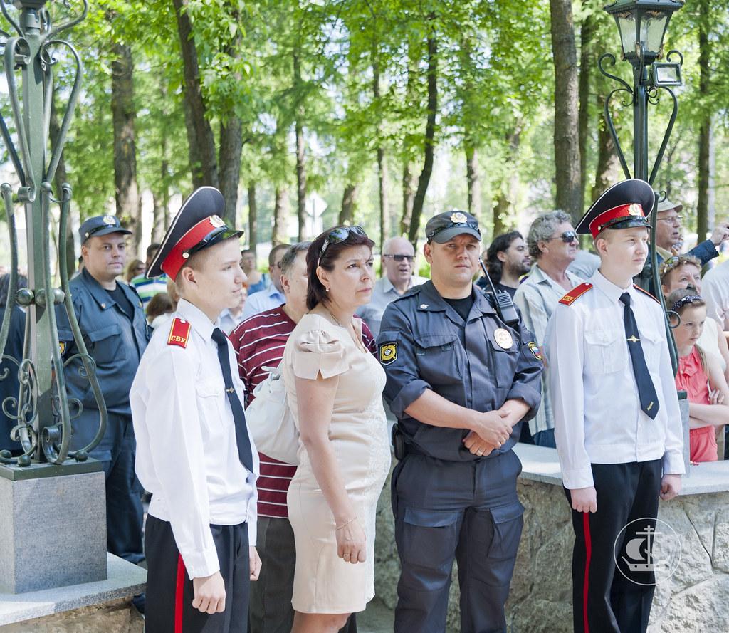 9 июня 2013, Освящение памятника Петру I в Кировске