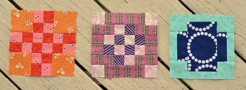 Tula City Sampler blocks 7-9