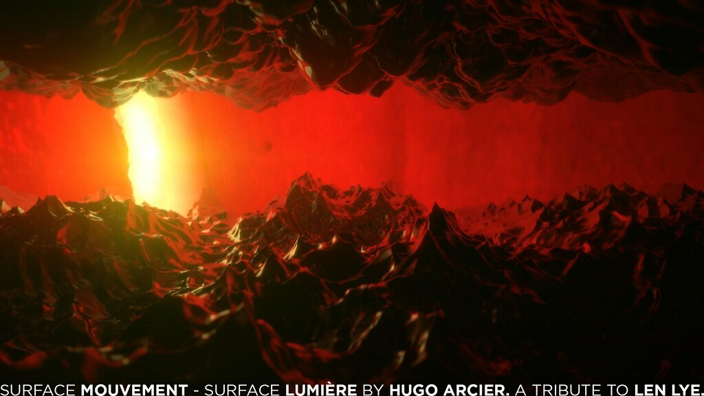 surface mouvement - surface lumière