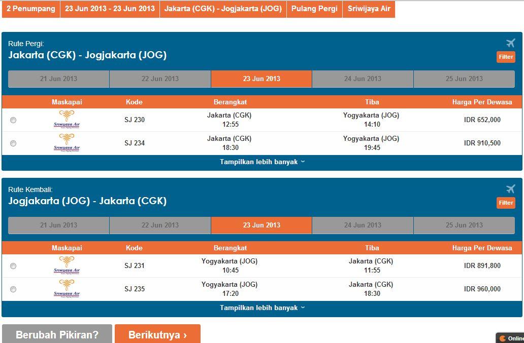 Tiket Pesawat 2013