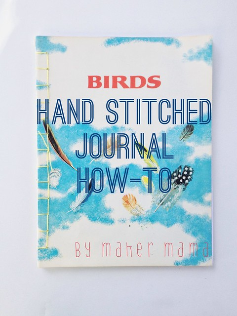 Hand stitched journal how-to