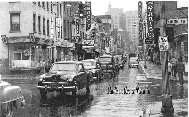 madison ave and south pearl st 1950 39 s albany ny flickr photo sharing. Black Bedroom Furniture Sets. Home Design Ideas