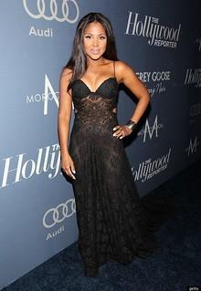 Toni Braxton Sheer Dress Celebrity Style Women's Fashion