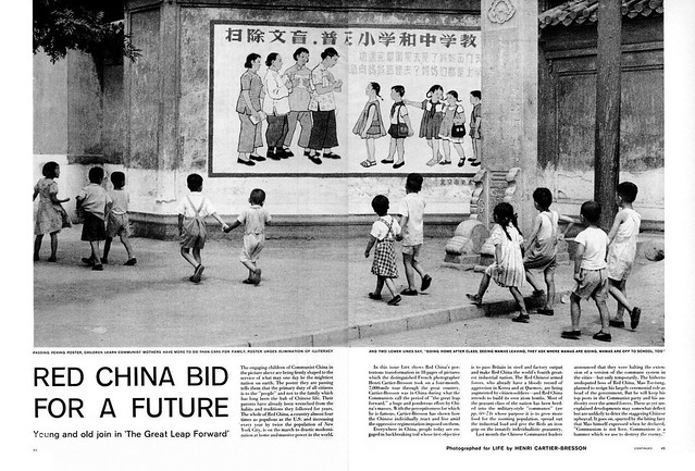 LIFE Magazine January 5, 1959 (2) - RED CHINA BID FOR A FUTURE