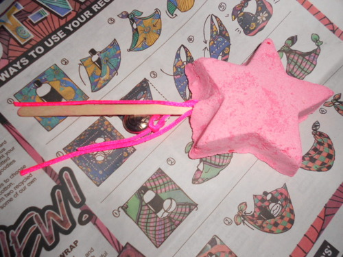 Lush Magic Wand Bubble Bar