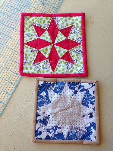 Paper Pieced Mug Rugs