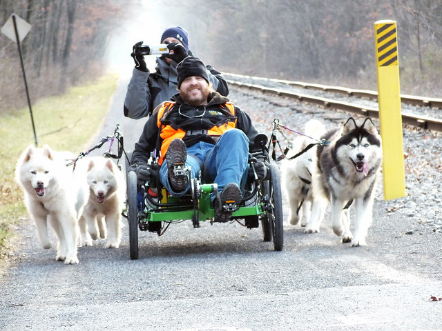 WooFDriver On Tour - Great Allegheny Passage, Frostburg MD 2.01.2012