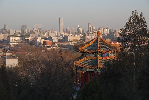 Jingshan Park overlooking Beijing