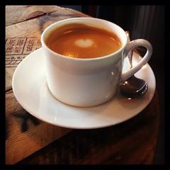Flat White at The Green Coffee Machine