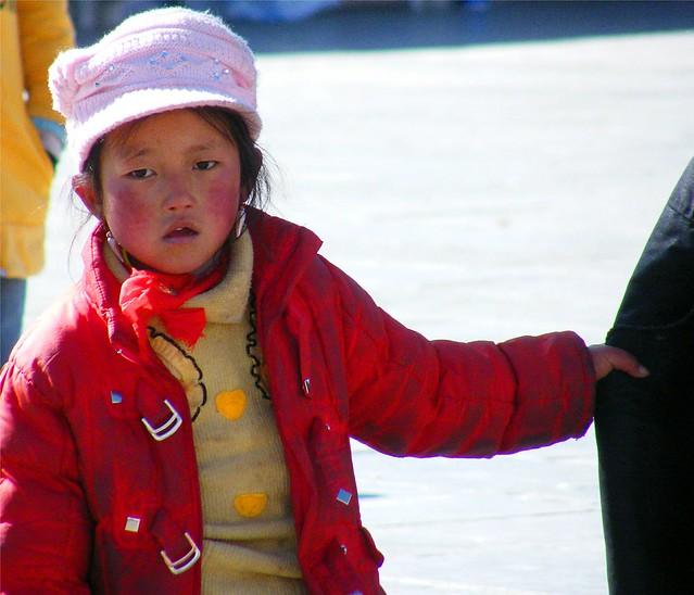 Fashionable Tibetan Girl
