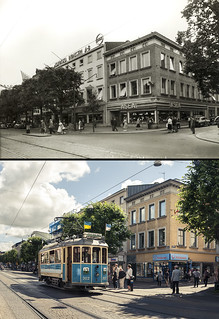 Gothenburg, Inom Vallgraven 1954 / 2013