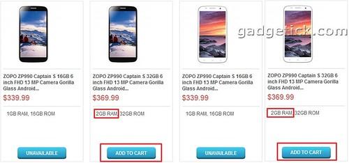 Цена Zopo ZP990 Captain S Купить