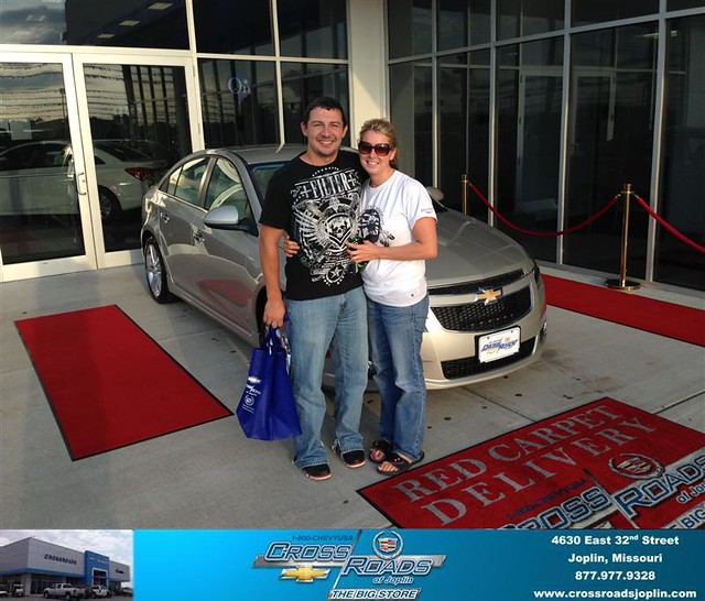 Thank you to Lara Dunham on the 2013 Chevrolet Cruze from ...