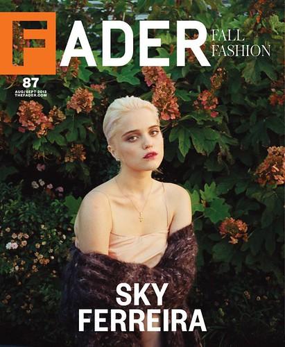 Sky ferreira Fader Magazine cover