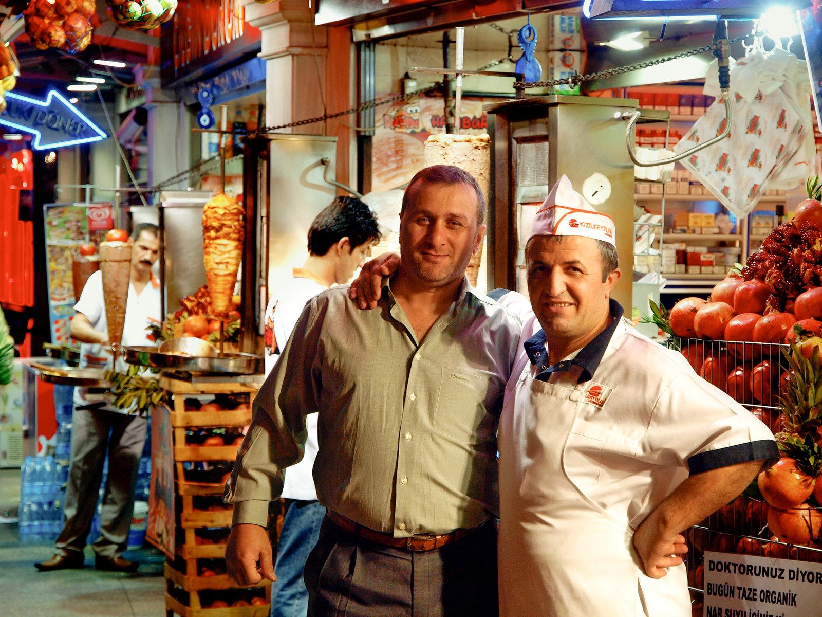 Istanbul - Les vendeurs de Kebab