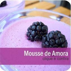 Mousse de Amora