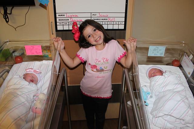 20130819 Amelia with Olivia and Crockett