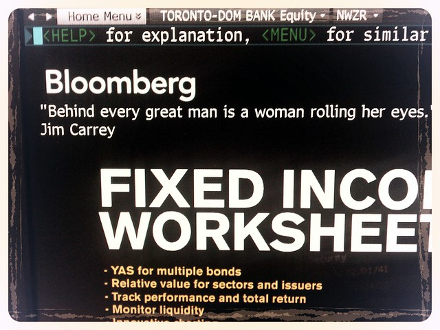 Ah Bloomberg, I will miss your quotes!