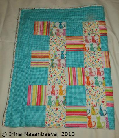 Irina's first quilt_2