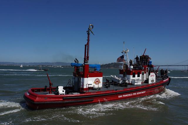 SFFD Boat