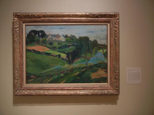 DSCN7807 _ Brittany Landscape, c. 1888-1889, Émile Bernard (1868-1941), Norton Simon Museum, July 2013
