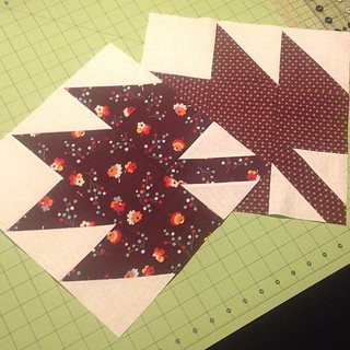 Two #dogoodstitches blocks for @xxnicke too!