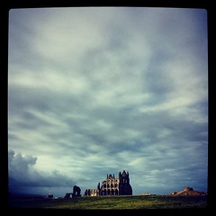 Whitby Abbey #filey