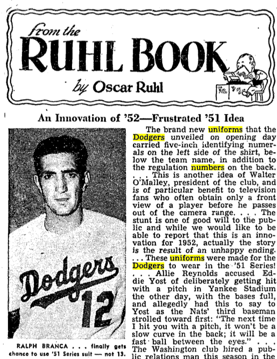 e5d322ceb626 Revealed  The Story Behind the Dodgers  Red Numbers
