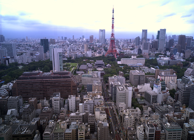 Tokyo Tower, H.Biogon 38mm f4.5(f11)1200dpi