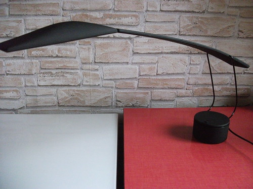 Dove Lamp Design Colombo Barbaglia 1980s Vintage Desk