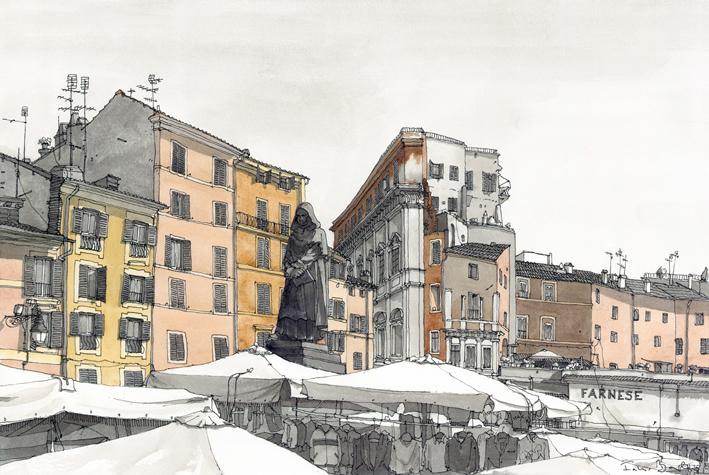 Barilari _ Roma - Campo de Fiori_Xlt