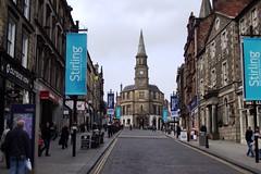 Stirling. Impressive stone of Stirling Scotland.