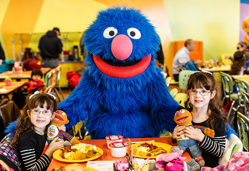 Breakfast with Grover