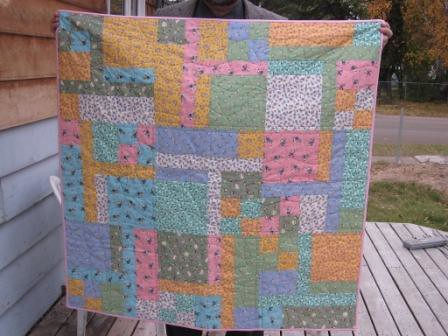 Turning Nine - Baptism Quilt