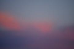 sunset, two ways