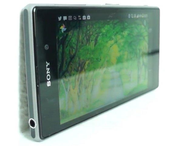 Обзор Sony Xperia Z1