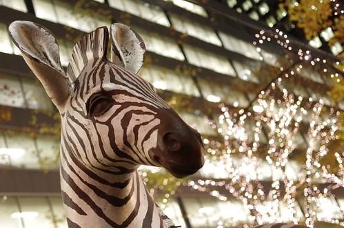 zebra statue 0