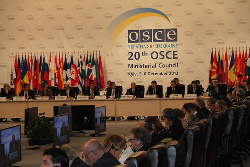 OSCE Ministerial Council meeting on 5 December in Kyiv
