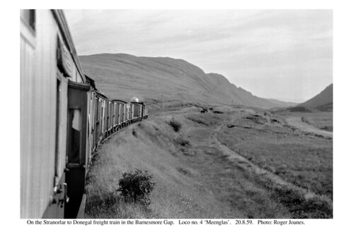 ireland blackwhite railways barnesmoregap