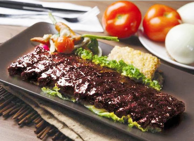 Dry Rubbed Coffee Ribs