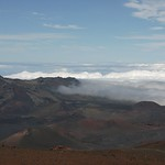 Crater valley, Maui