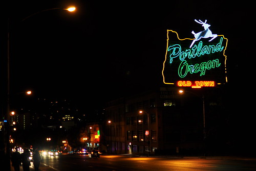 White Stag Sign - Portland