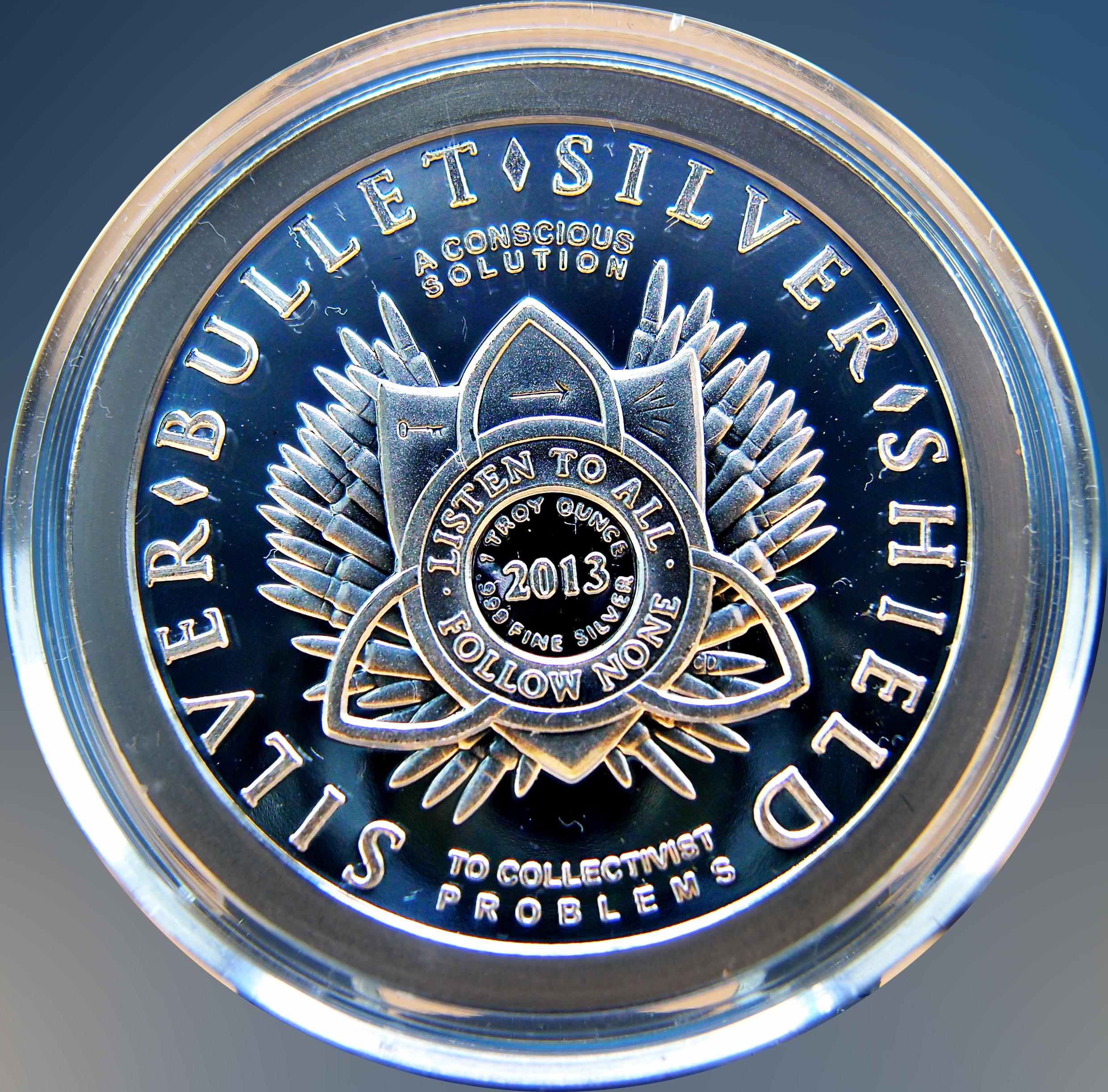 """Colección de onzas de plata """" Silver Bullets & Silver Shield"""" 11802745466_7ea675ba59_o"""