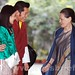 Sonia Gandhi with Butan King  02