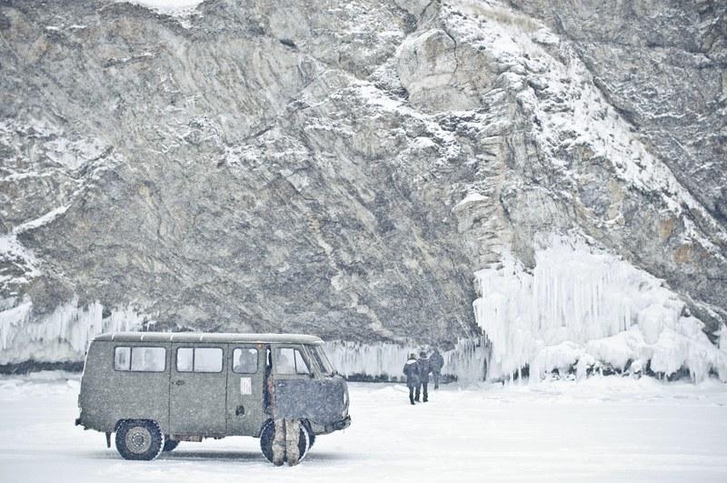 Olkhon Island Driving