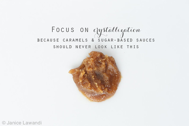 focus on crystallization and sugars | kitchen heals soul